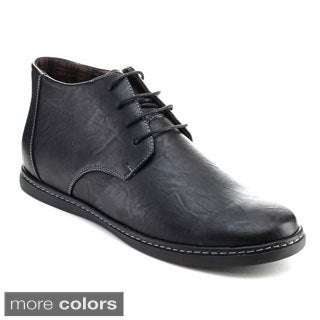 Alessio M260H Men's High-top Lace Up Casual Oxfords