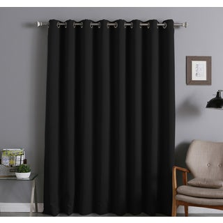Lights Out Extra Width Thermal Insulated 96-inch Blackout Curtain Panel