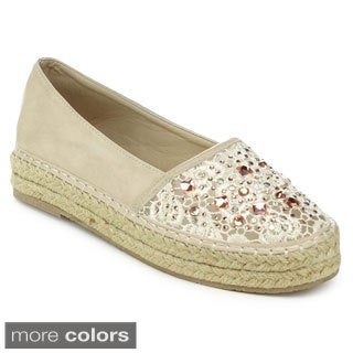 Nature Breeze Duplex-03 Women's Espadrille Slip-on Flats
