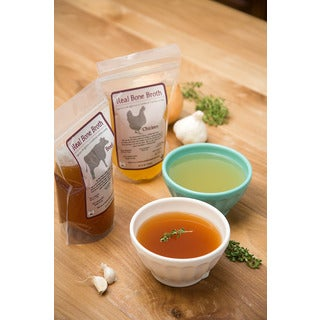 Real True Foods Chicken Bone Broth Bundle