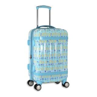 J World New York Taqoo Urban 20-inch Hardside Carry-on Spinner Upright Suitcase