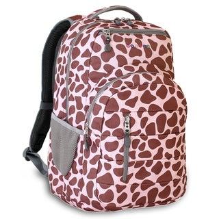 J World New York Carmen Pink Zulu 15-inch Laptop Backpack