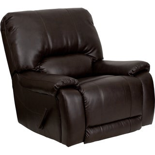 Flash Furniture Brown Bonded Leather Recliner
