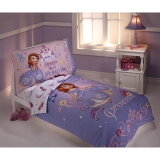 Sofia The First 4-piece Toddler Bedding Set
