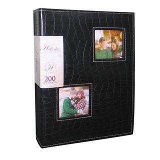 Kleer Vu Leatherette Croco Photo Album Holds 200 5x7 photos, 2 photos per page