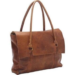Large Oversized Soft Brown Leather Handbag