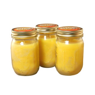 12-ounce Mason Jar Citronella Candles (Set of 3)