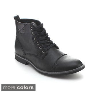Arider COOPER-04 Men's High-Top Lace Up Ankle Boots
