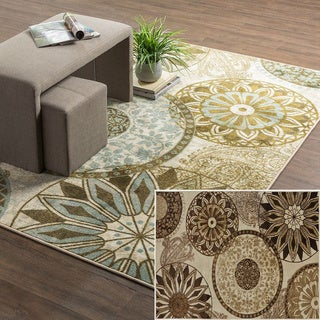 Mohawk Home New Wave Inspired India Printed Rug (8'x10')
