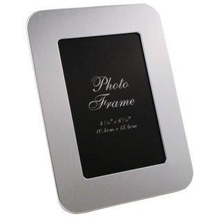 Visol Zafina Brushed Aluminium Photo Frame