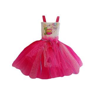 Girls' Owl's 1st Birthday Tutu Dress