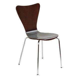 Legare Furniture Bent Ply Chair in Espresso Finish, 34x 17