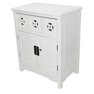 Heather Ann Double Door Accent Cabinet