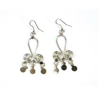 Swirl Earrings (India)