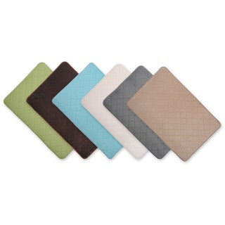Venus Spa Collection 20 x 30 Memory Foam Bath Mats (Set of 2)