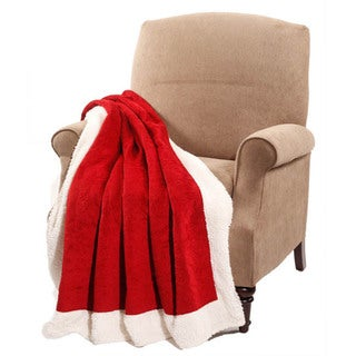 BNF Home Embroidered Microplush Throw
