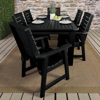 Highwood Marine-grade Synthetic Wood Lehigh 5-piece Square Dining Set
