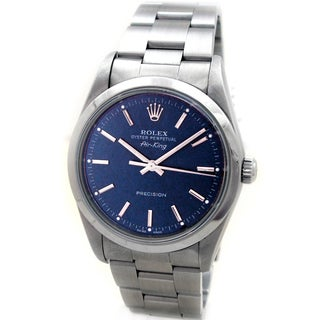 Pre-Owned Rolex Men's Stainless Steel Airking Watch