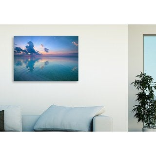 Vvvita 'Tranquil Sunset' Oversized Gallery Wrapped Canvas