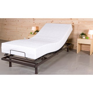 adjustable bed twin xl mattresses overstock shopping the best prices online. Black Bedroom Furniture Sets. Home Design Ideas