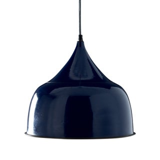Granger Royal Blue 1-light Hanging Pendant (India)