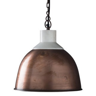 Wallace Copper 1-light Hanging Pendant (India)