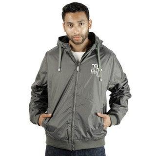 Rock Revolution Men's Reversible NY Zip-Up Hooded Jacket