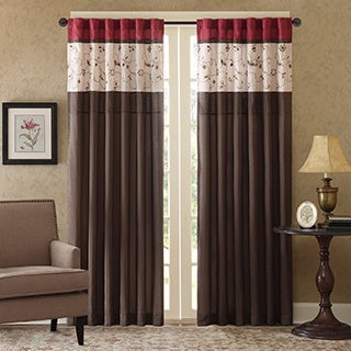 Madison Park Belle Embroidered Window Panel