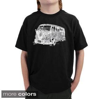 LA Pop Art Boy's The 70's T-shirt