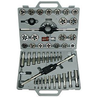 Drill America 3.00mm - 12.00mm HSS Tap and Hex Die Set