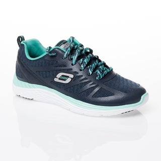 Skechers USA Sport Valeris Flying High Relaxed Fit Quarter Detail Shoes with Air-cooled Memory Foam