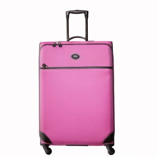 Brics Pronto 30-inch Pink Spinner Trolley Upright Suitcase