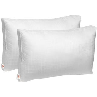 Swiss Comforts Cotton Down Alternative Sleeping Bed Pillow with Gusset