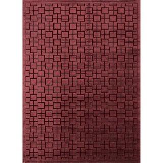 Madison Red Brick Area Rug (9'2 x 12'7)