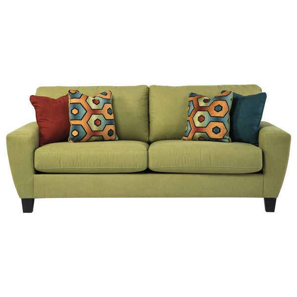 Signature Design By Ashley Sagen Basil Sofa Overstock Shopping Great Deals On Signature