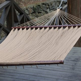Prime Garden Two-Point Tight Weave Caribbean Hammock
