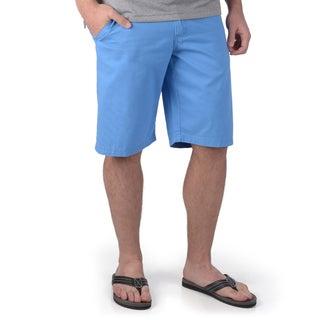 Boston Traveler Men's Cotton Belted Bermuda Shorts