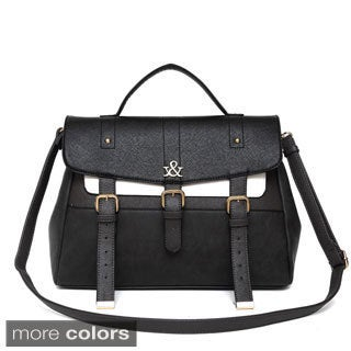 Hue & Ash Buckled Satchel