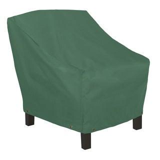 Classic Accessories Atrium Green Adirondack Patio Chair Cover