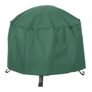 Classic Accessories Atrium Green 24-inch Round Patio Firepit Cover
