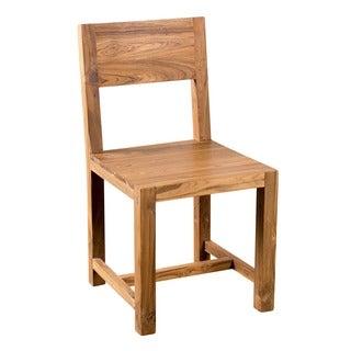 Simple Dining Chair Reclaimed Teak (India)
