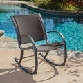 Christopher Knight Home Gracie's Outdoor Wicker Rocking Chair