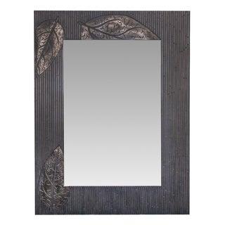Somette Leaf Patterned Mirror