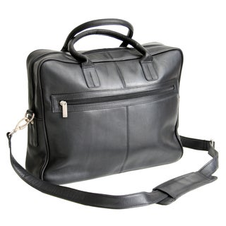 Royce Leather Colombian Vaquetta Cowhide Laptop Briefcase