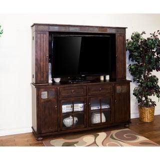 Sunny Designs Santa Fe Birch Woold Media Hutch and TV Console