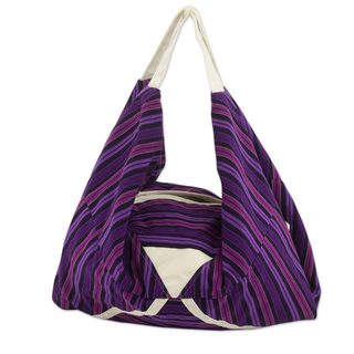 Handcrafted Cotton 'Chuaxan' Hobo Bag (Guatemala)