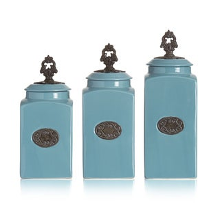 Lina 3-piece Canister Set