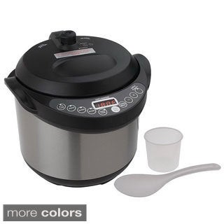 Cook's Essentials 4-quart 5-function Digital Pressure Cooker