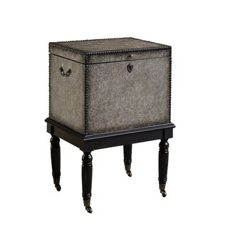 Christopher Knight Home Mars Hill Greyish Black Box on Stand Cabinet