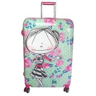 Hablando Sola Small World 30-inch Hardside Spinner Upright Suitcase